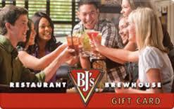 discount restaurant gift cards bj s restaurant gift card discount 10 70