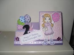 sonia u0027s crafting creations 2 year old birthday card