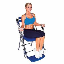 Chair Resistance Band Exercises Chair Gym Exercise System With Twister Seat And Workout Dvds