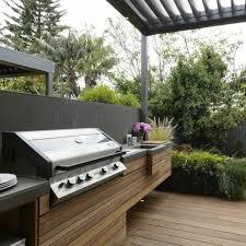 cuisine d été en bois cuisine d ete exterieure construction newsindo co
