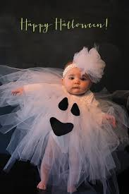 boo cute ghost costume for baby tulle tutu by vanettapark