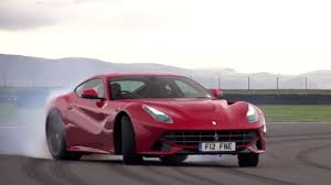 Ferrari F12 On Track - killing tires with a ferrari f12 chris harris on cars