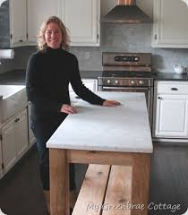 restoration hardware kitchen island my greenbrae cottage restoration hardware inspired island the