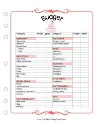 wedding budget planner best 25 wedding budget worksheet ideas on wedding