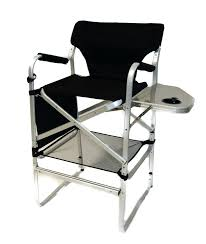 Folding Directors Chair With Side Table Aluminium Folding Chair With Side Table Timber Ridge Folding Chair
