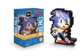 amazon pdp pixel pals sonic hedgehog collectible lighted