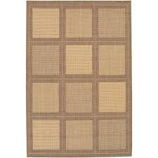 Couristan Outdoor Rugs Couristan Recife Summit Cocoa 2 Ft 3 In X 11 Ft 9 In