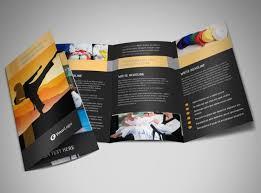 martial arts academy brochure template mycreativeshop