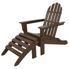 Trex Rocking Chairs Furniture Surf City Textured Bronze 3 Piece Patio Bar Set By Trex