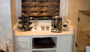 bar built in bar stunning wet bar shelving ideas a clean and