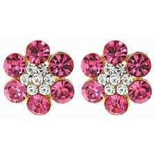 fabulous earrings two tone fabulous earrings fornash
