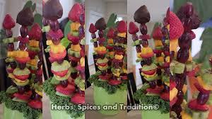 arrangement fruit herbs spices and tradition fruit bouquet arrangement