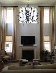 Curtain Ideas For Living Room Best 25 Two Story Windows Ideas On Pinterest Two Story