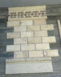 white ivory turkish travertine beveled edge natural stone