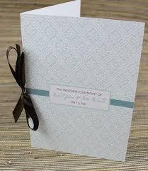 easy wedding programs 59 best diy wedding programs images on wedding program
