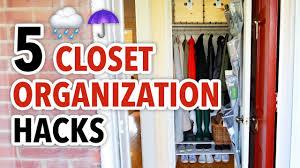 5 closet organization hacks for winter hgtv handmade youtube