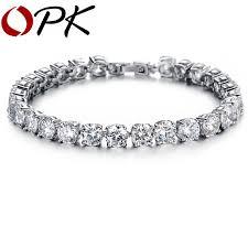 bracelet diamond style images Opk aaa cubic zirconia tennis bracelet elegant style gift for jpg