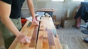 diy salvaged wood countertop sealing and therapy youtube diy salvaged wood countertop sealing and therapy
