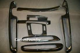 Bmw M3 Interior Trim Bmw E46 Coupe M3 Carbon Fiber Interior Trim Dash Kit Lhd 46 2cf Ebay