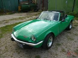 1977 triumph spitfire 1500 green