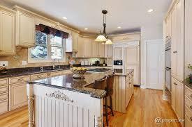 cottage kitchen islands cottage kitchen with u shaped undermount sink in mundelein il