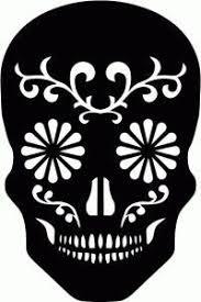 printable skull stencil coolest free printables halloween