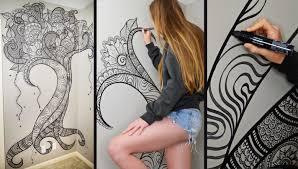 henna tree wall art mehndi design youtube
