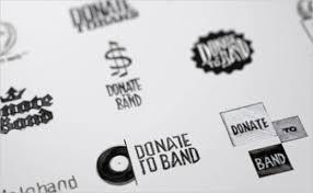 band logo designer donate to band brand identity website design graphics logo design