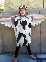 Girls Owl Halloween Costume Homemade Owl Costume Halloween Homemade Owl