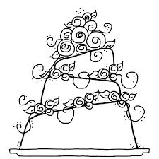 wedding cake drawing wedding cake coloring pages 4025 wedding cake coloring pages