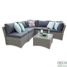 Day Bed Sofa by 6pc Outdoor Modular Daybed Rattan Garden Furniture Deco Alfresco