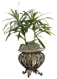 butler cast iron u0026 stone planter victorian indoor pots and