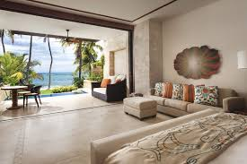 Floor Level Bed Living Room Silver Blue Room Teak Wood Varnish Coffee Table Lamp