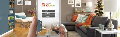 Home Interior App The Home Depot New Technology Shows You The Paint Color
