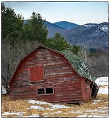 The Barn In Lake Alfred Some History Of The Famous Red Barn In Keene The Adirondack