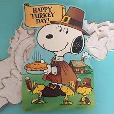 snoopy thanksgiving ebay