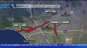 Earthquake Los Angeles Map by New Maps Detail Westside U0027s Earthquake Faults Youtube