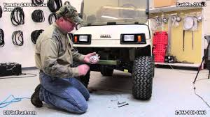 universal golf cart horn kit how to install on yamaha gas youtube
