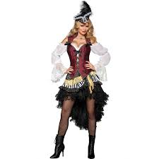 pirate plus size halloween costumes high seas treasure pirate costume