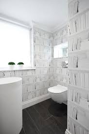 bathroom wallpaper ideas wallpaper design ideas powder room contemporary with small