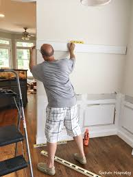 beadboard wainscot in the dining room southern hospitality