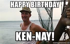 Ken Meme - happy birthday ken meme mne vse pohuj