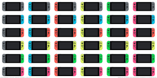 light switch color options every color nintendo switch joy con controller plus some