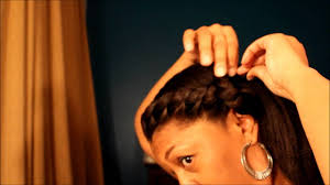 Protective Styles For Short Transitioning Hair - protective style 5 for relaxed natural or transitioning hair youtube