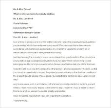 intent to vacate letter 30 day notice template 30 day notice to