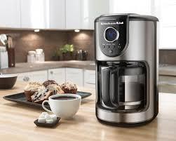 Black Kitchenaid Mixer by Kitchenaid 12 Cup Glass Carafe Coffee Maker Onyx Black Kcm111ob