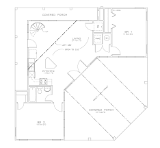 southern style house plan 2 beds 1 00 baths 966 sq ft plan 8 234
