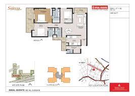floor plans of ansal heights gurgaon sector 86 ansal heights