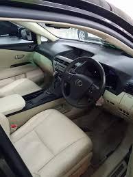 lexus rx bekas rx series lexus rx270 2012 hitam keren mobilbekas com