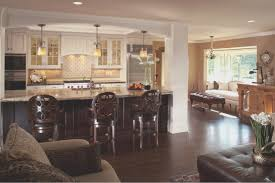 kitchen and home interiors living room best open kitchen and living room designs home